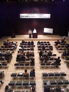 講演会始まりました